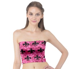 RYL1 BK-PK MARBLE Tube Top