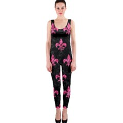 RYL1 BK-PK MARBLE (R) OnePiece Catsuit