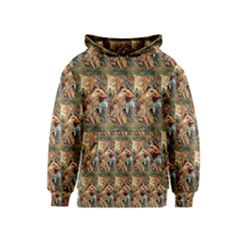 Autumn By Alfons Mucha 1896 Kids  Pullover Hoodie
