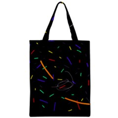 Colorful beauty Zipper Classic Tote Bag