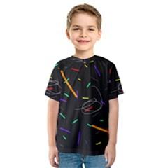 Colorful beauty Kids  Sport Mesh Tee