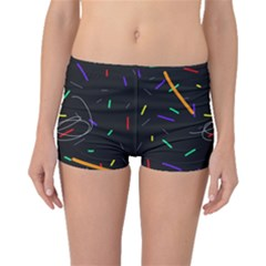 Colorful beauty Boyleg Bikini Bottoms