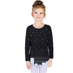 Night Kids  Long Sleeve Tee