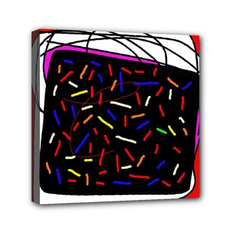Color TV Mini Canvas 6  x 6