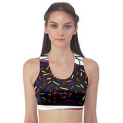 Color TV Sports Bra