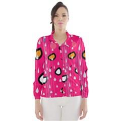 Rainy day - pink Wind Breaker (Women)