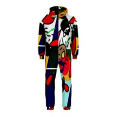 Fly, fly Hooded Jumpsuit (Kids)