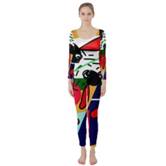 Fly, fly Long Sleeve Catsuit