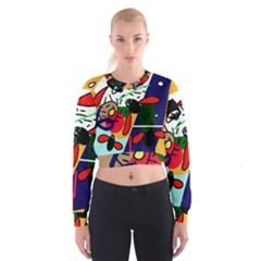 Fly, fly Women s Cropped Sweatshirt