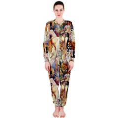 Alfons Mucha 1895 The Four Seasons OnePiece Jumpsuit (Ladies)