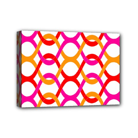Background Abstract Mini Canvas 7  x 5