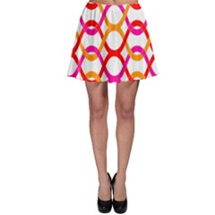 Background Abstract Skater Skirt
