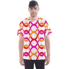 Background Abstract Men s Sport Mesh Tee