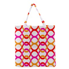 Background Abstract Grocery Tote Bag