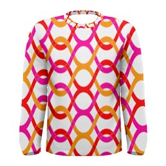 Background Abstract Men s Long Sleeve Tee