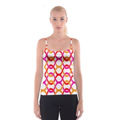 Background Abstract Spaghetti Strap Top