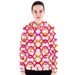Background Abstract Women s Zipper Hoodie