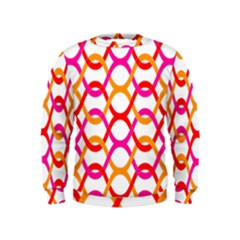 Background Abstract Kids  Sweatshirt