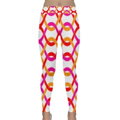 Background Abstract Classic Yoga Leggings