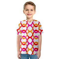 Background Abstract Kids  Sport Mesh Tee