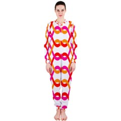 Background Abstract OnePiece Jumpsuit (Ladies)