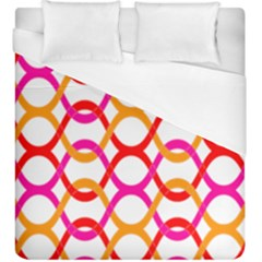 Background Abstract Duvet Cover (King Size)