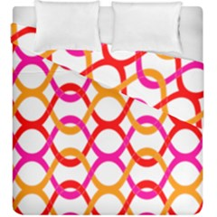 Background Abstract Duvet Cover Double Side (King Size)