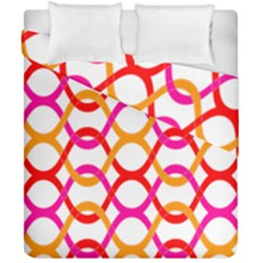 Background Abstract Duvet Cover Double Side (California King Size)