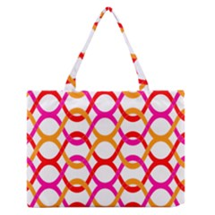 Background Abstract Medium Zipper Tote Bag