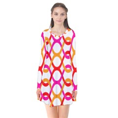 Background Abstract Flare Dress
