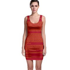 BIOGRAPHY Sleeveless Bodycon Dress