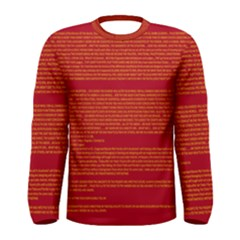 BIOGRAPHY Men s Long Sleeve Tee