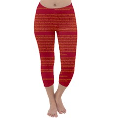 BIOGRAPHY Capri Winter Leggings