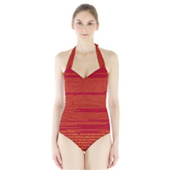 BIOGRAPHY Halter Swimsuit