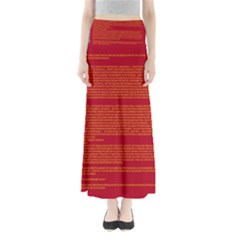BIOGRAPHY Maxi Skirts