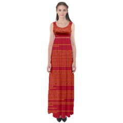 BIOGRAPHY Empire Waist Maxi Dress