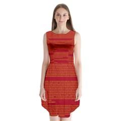 BIOGRAPHY Sleeveless Chiffon Dress