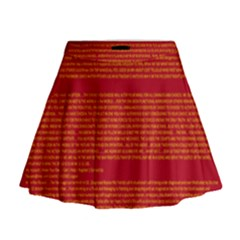 BIOGRAPHY Mini Flare Skirt