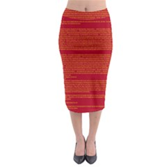BIOGRAPHY Midi Pencil Skirt
