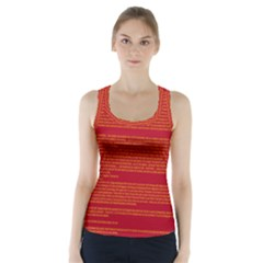 BIOGRAPHY Racer Back Sports Top