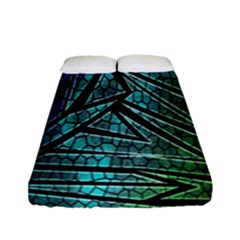 Abstract Background Rainbow Metal Fitted Sheet (Full/ Double Size)