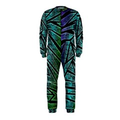 Abstract Background Rainbow Metal OnePiece Jumpsuit (Kids)