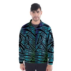 Abstract Background Rainbow Metal Wind Breaker (Men)