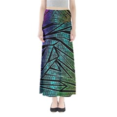 Abstract Background Rainbow Metal Maxi Skirts