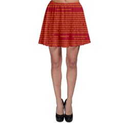 Writing Grace Skater Skirt