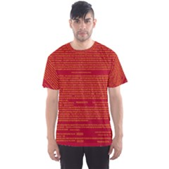Writing Grace Men s Sport Mesh Tee