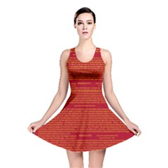 Writing Grace Reversible Skater Dress
