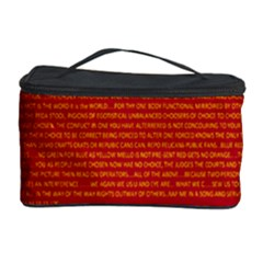 Writing Grace Cosmetic Storage Case