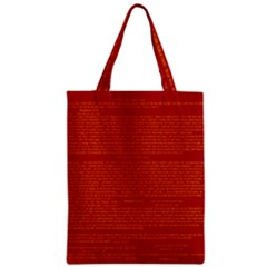 Writing Grace Zipper Classic Tote Bag