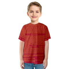 Writing Grace Kids  Sport Mesh Tee